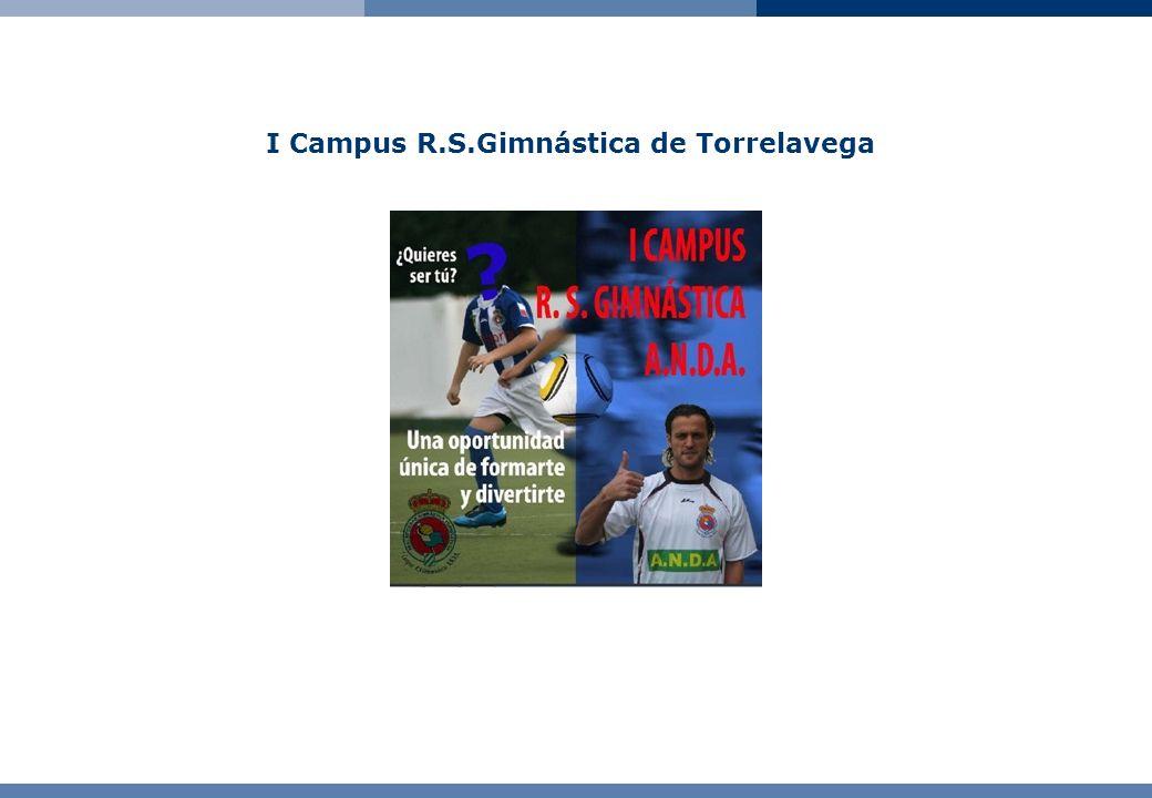 I Campus R.S.Gimnástica de Torrelavega