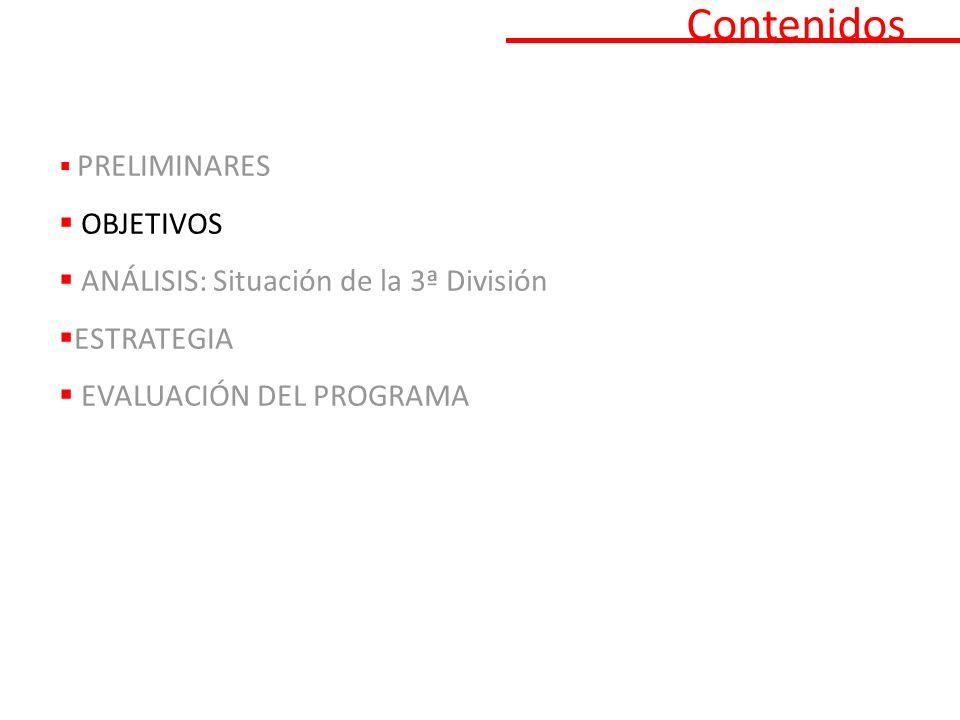 Análisis SITUACIÓN ACTUAL DE LA TERCERA DIVISIÓN Edad 317 - 54,9 % 577 árbitros