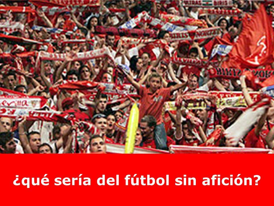 gritan gol… celebran el gol… agradecen el gol… ¿qué sería del fútbol sin afición?