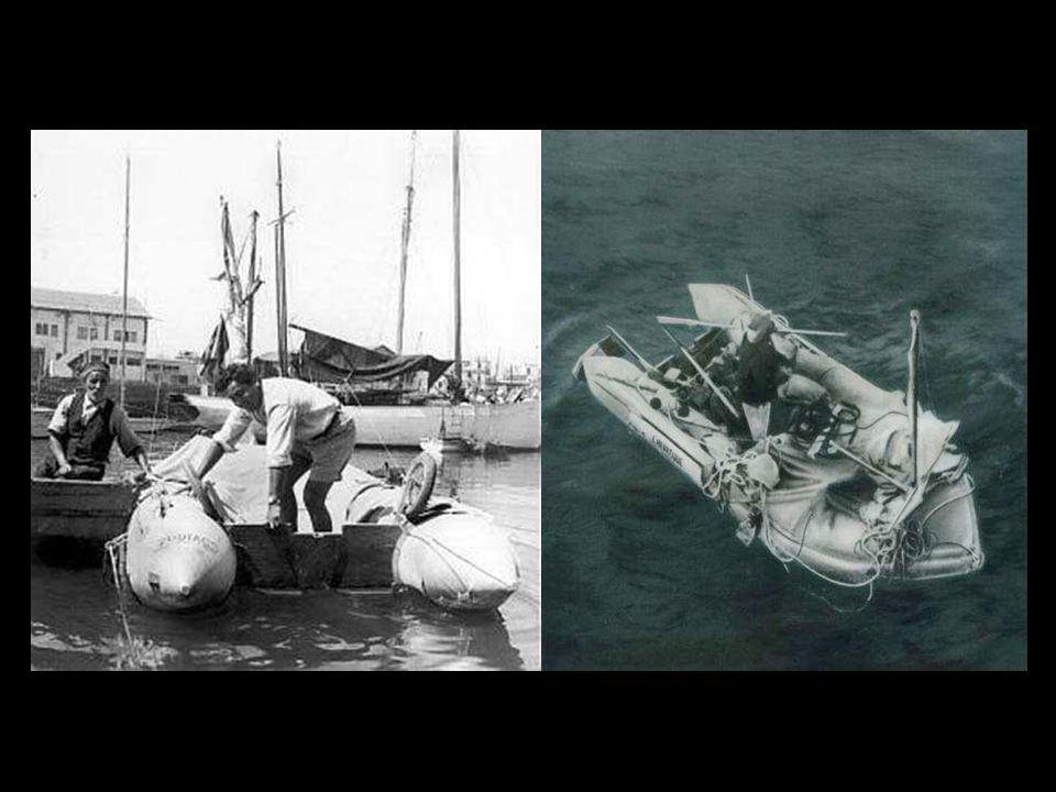 ¿Puede un hombre sobrevivir en el mar comiendo y bebiendo exclusivamentede lo que encuentre? Náufrago Voluntario (durante 65 días) es la historia (pub
