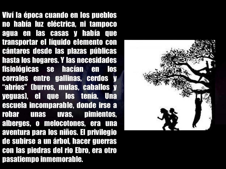 Me llamo Ángel Gracia Rodrigo. Nací un día de 1931 en Luceni (Zaragoza), y soy octogenario. Emigrante desde los cuatro años, viví la Guerra Civil espa