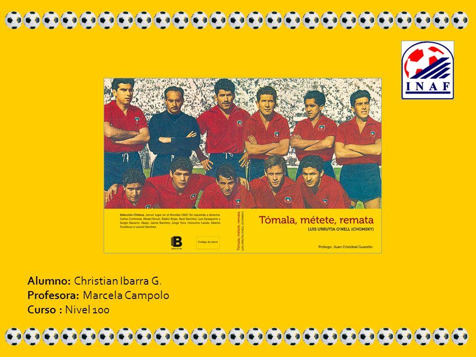 Alumno: Christian Ibarra G. Profesora: Marcela Campolo Curso : Nivel 100