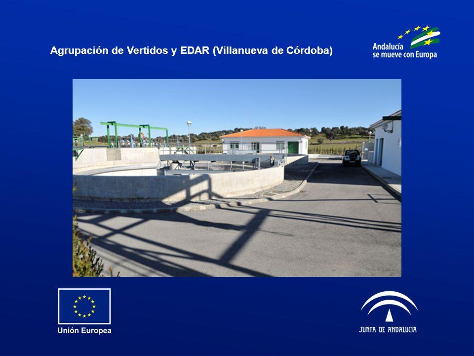 Agrupación de Vertidos y EDAR (Villanueva de Córdoba)