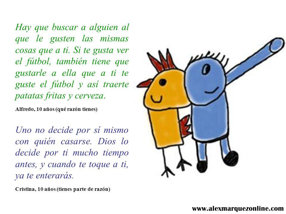 ¿CÓMO DECIDIR CON QUIÉN CASARSE? (Encuesta hecha a niños) www.alexmarquezonline.com