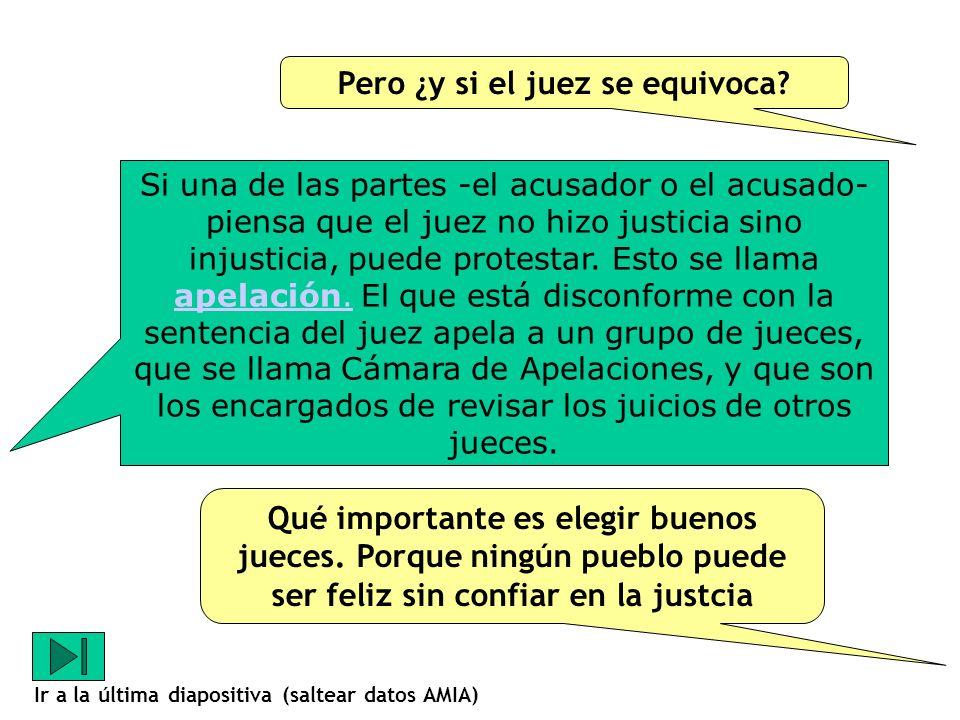 En los juicios escritos el juez tiene que leer muchísimo antes de dar su opinión.