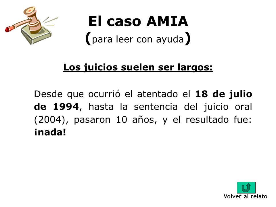 Respetar las leyes: La investigación del caso AMIA estuvo plagada de irregularidades, esto significa que los procedimientos que se usaron para conocer