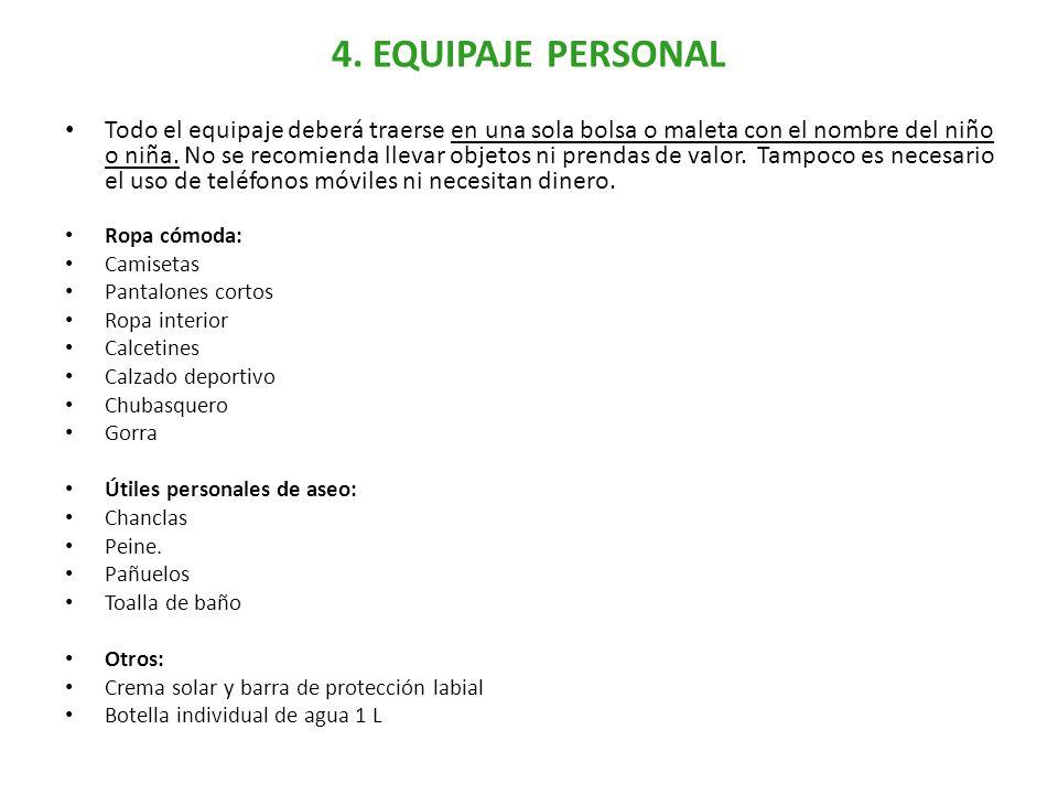 5. INFRAESTRUCTURAS