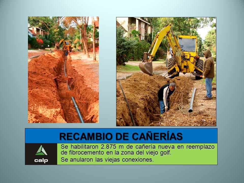 34 NUEVA E.T. VALERIA DEL MAR Nuevo alimentador subterráneo de media tensión en Valeria del Mar.
