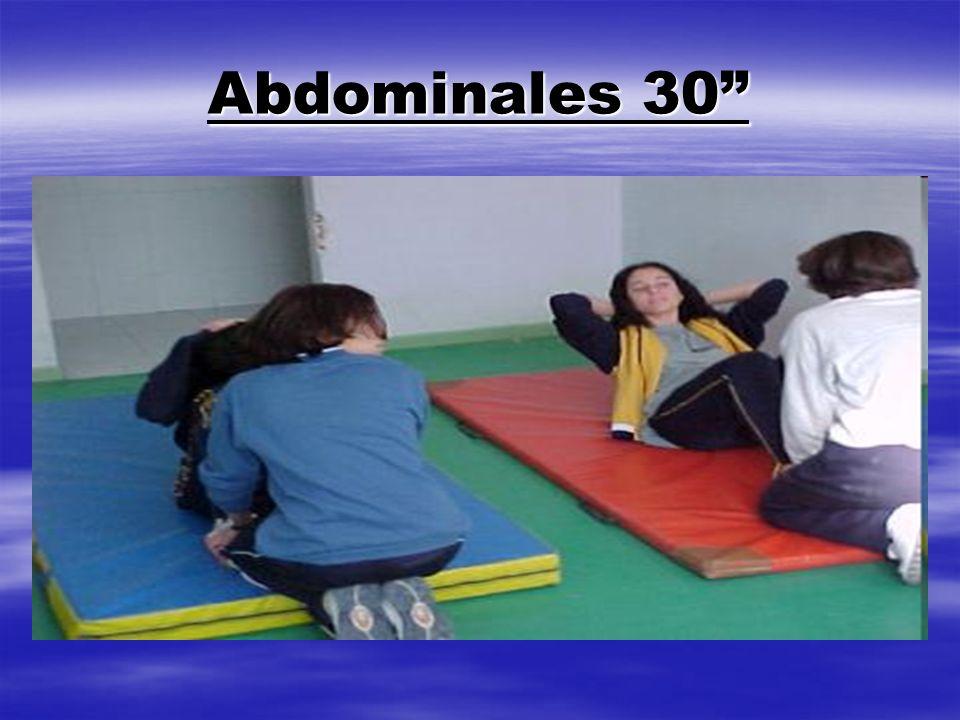 Abdominales 30