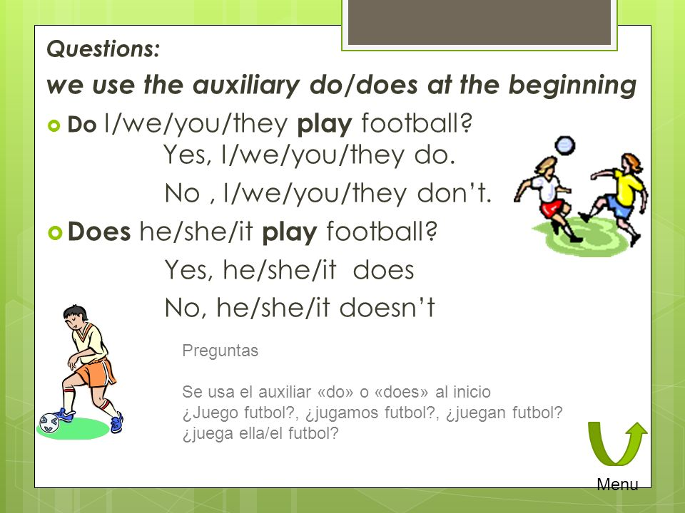Adverbs of Frequency alwayssiempre usuallyusualmente oftenfrecuentemente frequentlyfrecuentemente sometimesa veces seldomrara vez nevernunca The position of these adverbs is