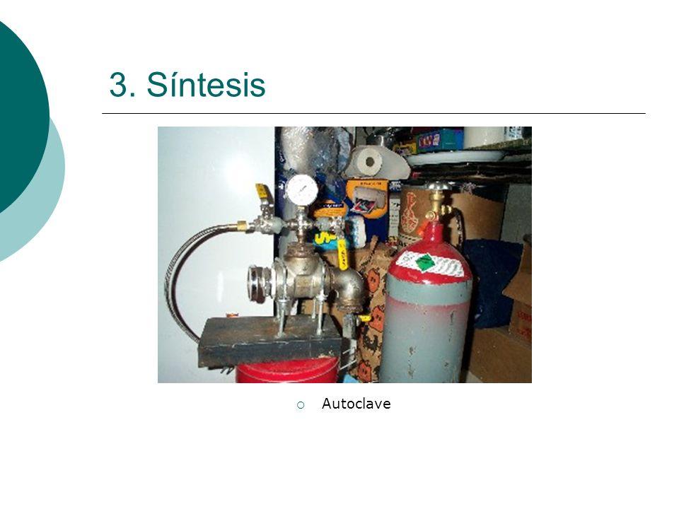 3. Síntesis Autoclave