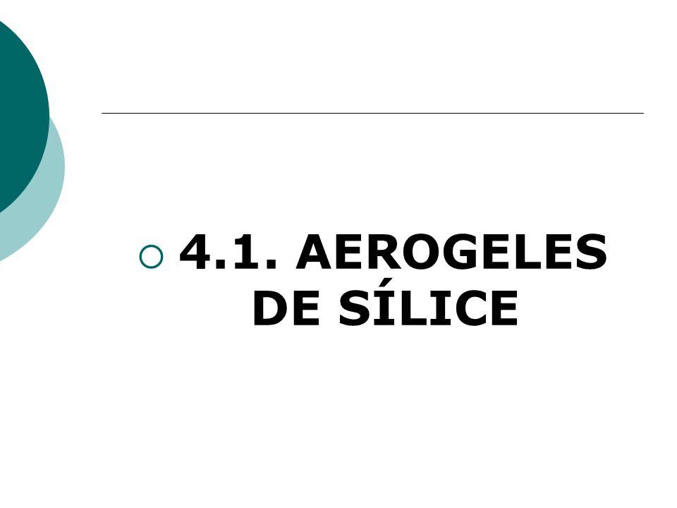 4.1. AEROGELES DE SÍLICE