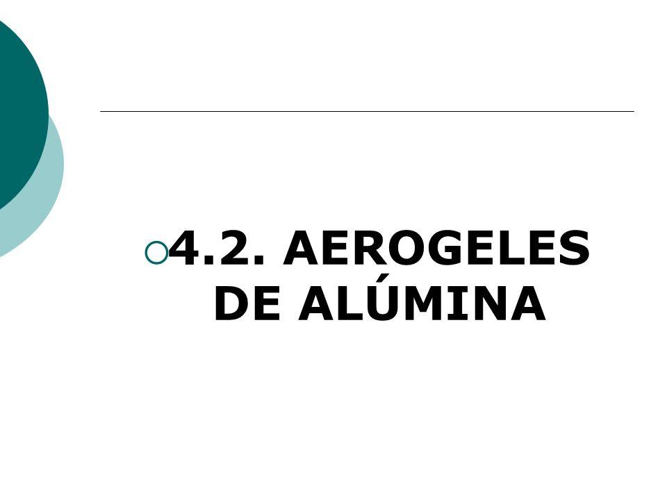 4.2. AEROGELES DE ALÚMINA