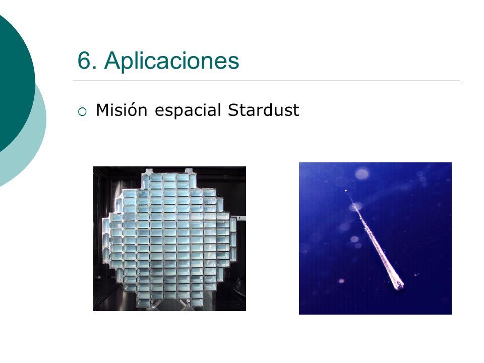 6. Aplicaciones Misión espacial Stardust
