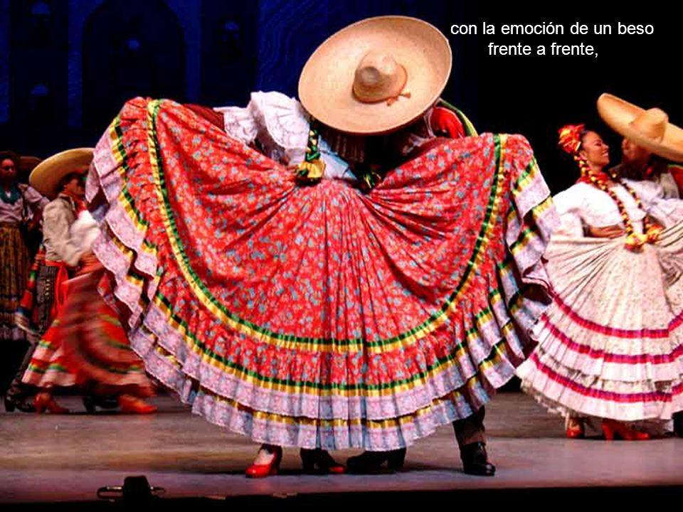 como bienvenida en Veracruz,