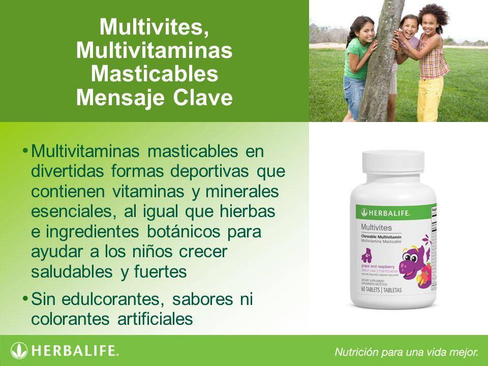 Multivites, Multivitaminas Masticables Mensaje Clave Multivitaminas masticables en divertidas formas deportivas que contienen vitaminas y minerales es