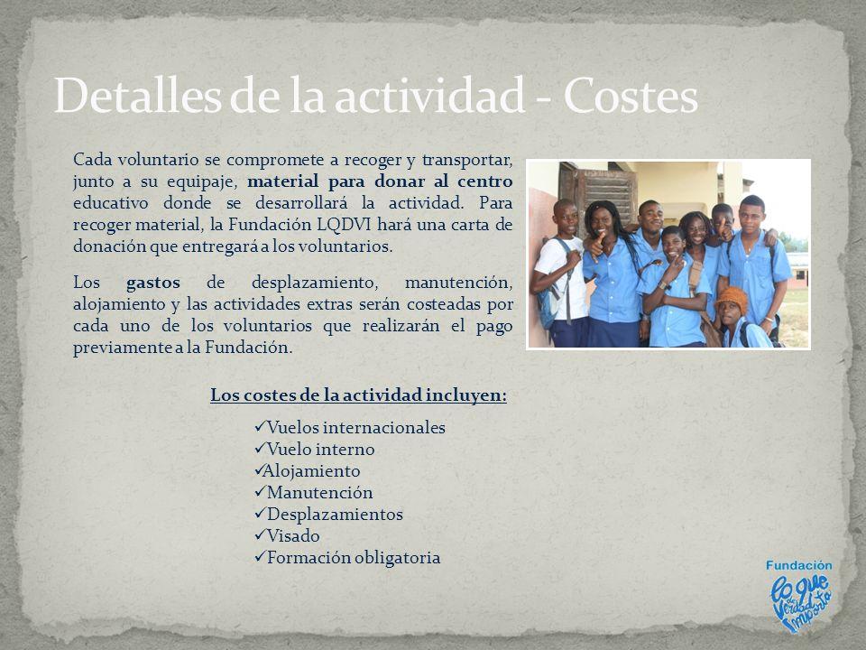 Si est á s interesado en realizar nuestro voluntariado en Guinea Ecuatorial debes hacer lo siguiente antes del 29 de febrero: Rellena con todos tus datos el formulario que encontrarás en nuestra web: http://www.loquedeverdadimporta.org/proyectos/voluntariado-con-valores/ http://www.loquedeverdadimporta.org/proyectos/voluntariado-con-valores/ Si tienes alguna duda, escr í benos a voluntariado@loquedeverdadimporta.orgvoluntariado@loquedeverdadimporta.org Además te sugerimos que: Entres en la sección TÚ (http://www.loquedeverdadimporta.org/tu/), te hagas una foto con tu Webcam y nos dejes un comentario.