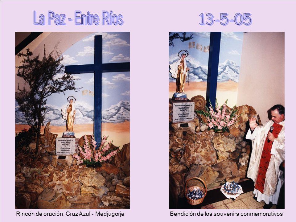 Nazaret es Vida 1er Rosario por la Vida - 25-3-04 2do previsto el 4-4-05 suspendido por el deceso de JPII 3er Rosario por la Vida – 25-3-06 4to Rosari