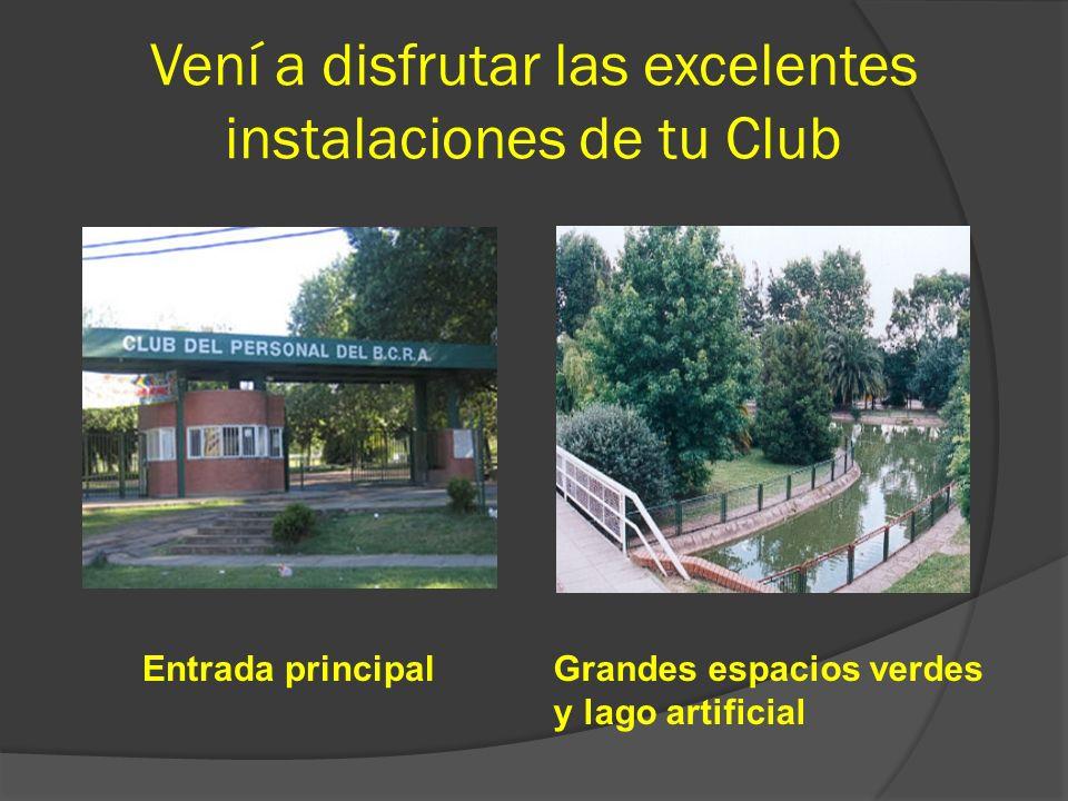 El Club fue creado para que todos los empleados pertenecientes al Banco Central tuvieran un lugar de descanso, esparcimiento y distracción. Y así pode