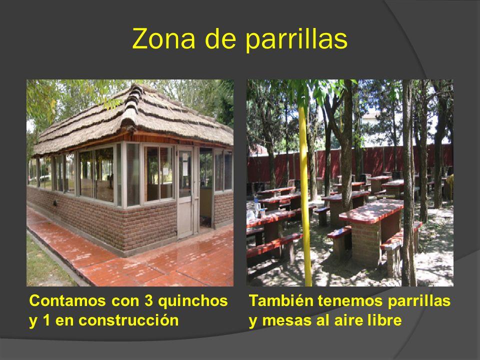 Vení a disfrutar las excelentes instalaciones de tu Club Entrada principalGrandes espacios verdes y lago artificial