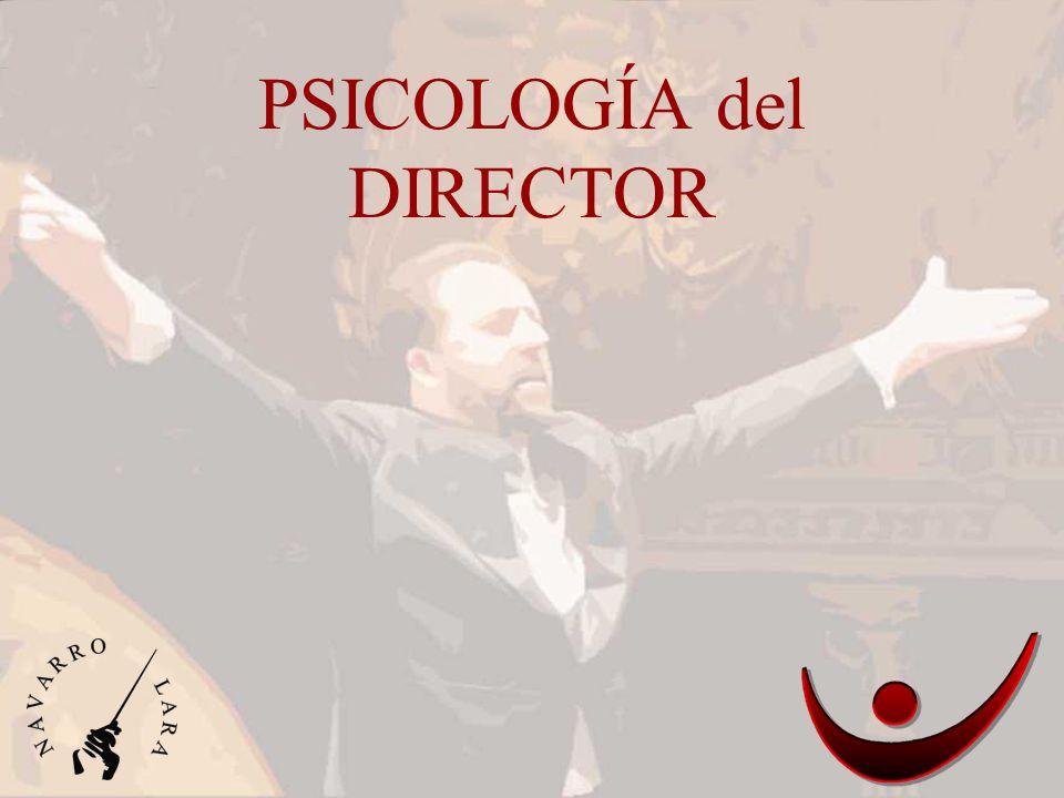 PSICOLOGÍA del DIRECTOR