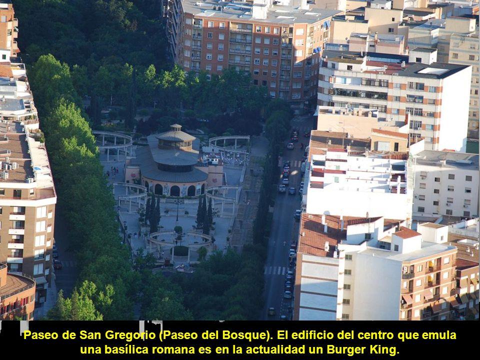 Paseo de San Gregorio (Paseo del Bosque).