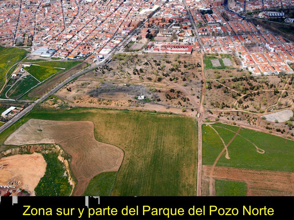 Zona centro, sur, oeste y parque del Pozo Norte