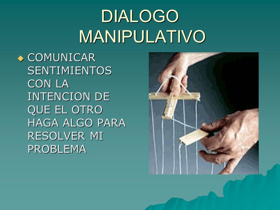 OBSTACULOS EN EL DIALOGO ACTITUD PESIMISTA ACTITUD PESIMISTA TEMOR TEMOR FALSO ORGULLO FALSO ORGULLO NO ESCUCHAR NO ESCUCHAR INDISCRECION INDISCRECION MIEDO MIEDO FALTA DE TIEMPO FALTA DE TIEMPO EGOISMO EGOISMO FALTA DE CONFIANZA FALTA DE CONFIANZA