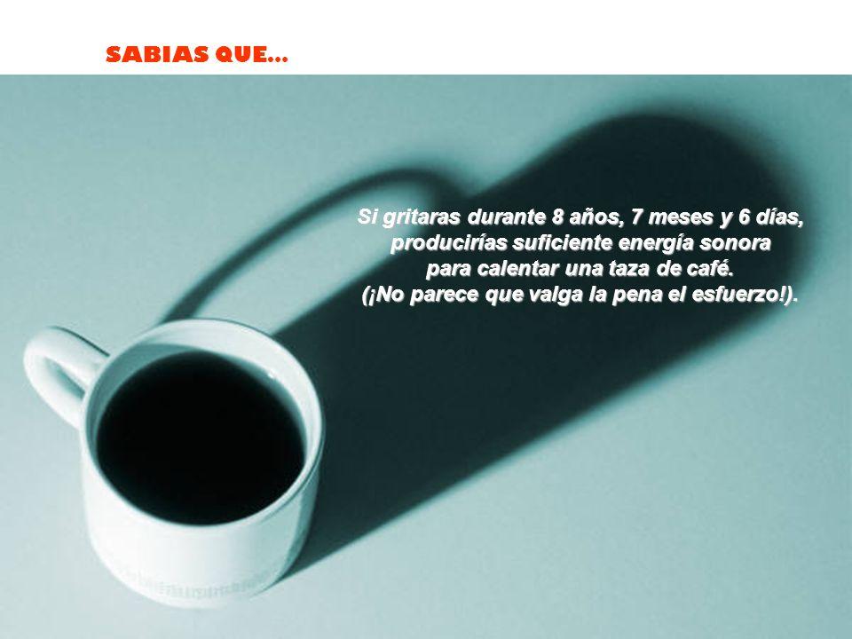 SABIAS QUE… La presión que crea el corazón humano al latir, es suficiente para lanzar la sangre a 10 metros de altura.