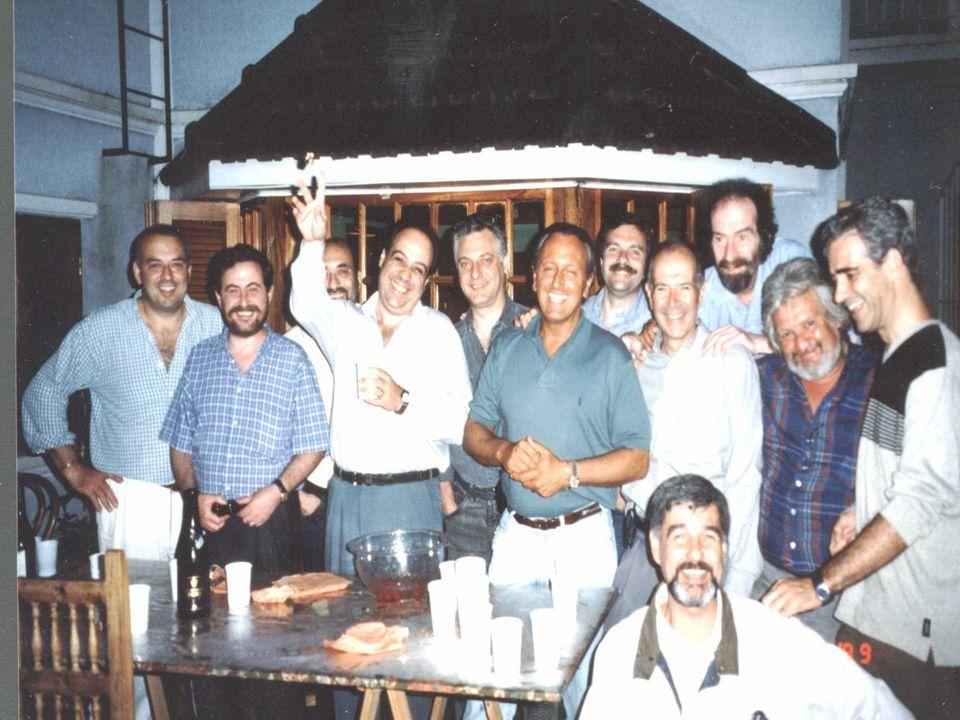 Reunión en lo de Berto 1999