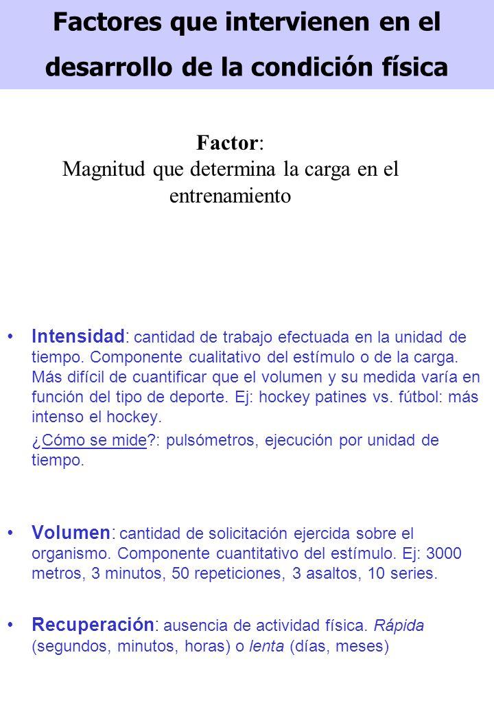 SISTEMAS DE DESARROLLO DE LA CONDICIÓN FÍSICA Sistemas: son pautas generales trabajo que se utilizan para la preparación de todas las cualidades de un sujeto.