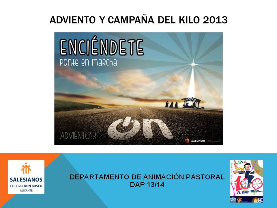 ADVIENTO Y CAMPAÑA DEL KILO 2013
