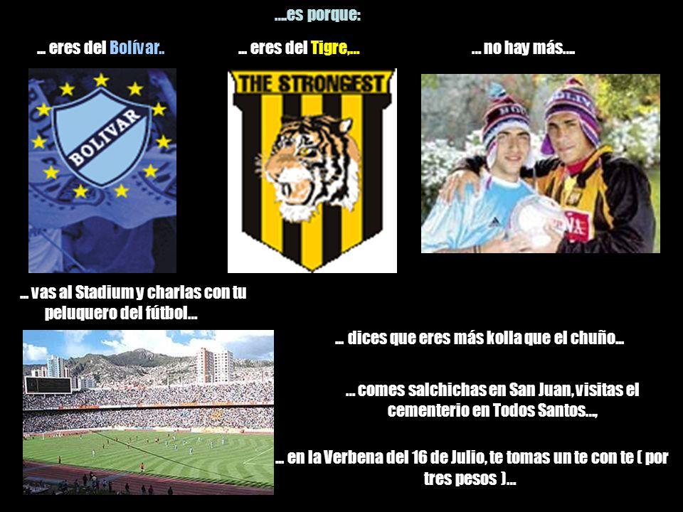 ... tus puntos de encuentro son El Obelisco, la Plaza del Estudiante, el reloj de la Pérez, los mástiles del Estadio….... dices: ¡todo está blue !....