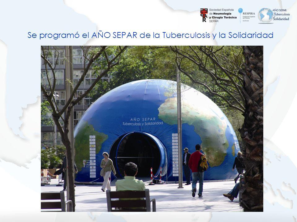 Se programó el AÑO SEPAR de la Tuberculosis y la Solidaridad