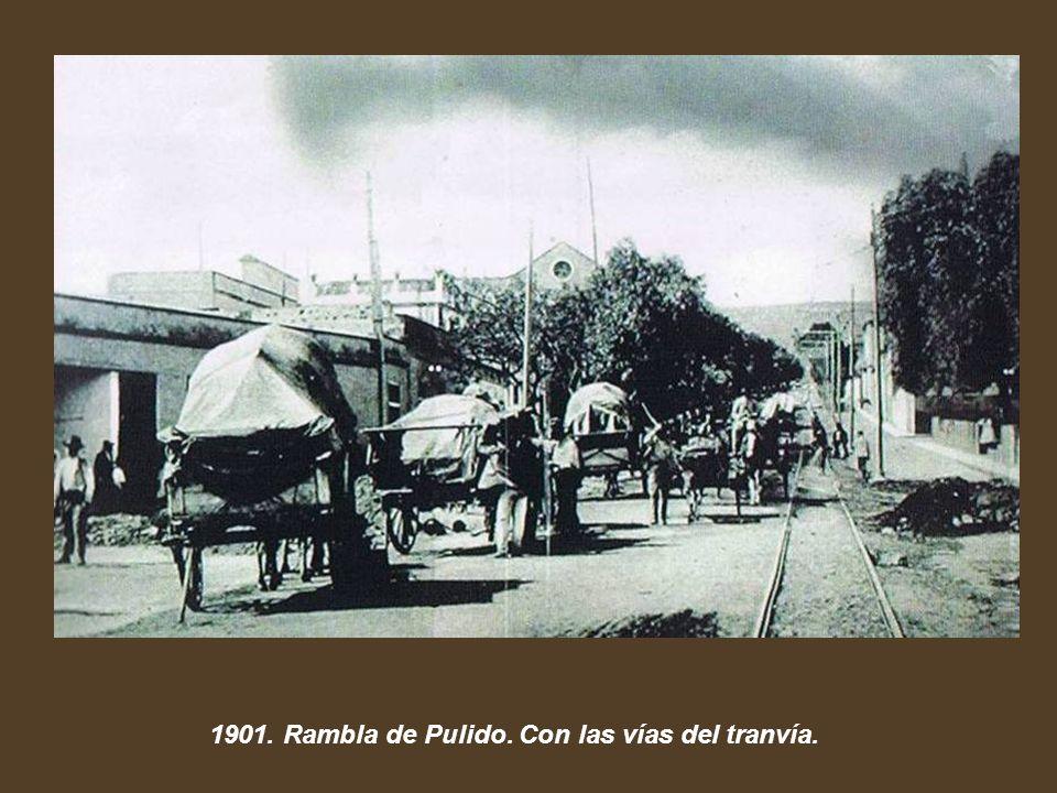 1901. Inauguración del Tranvía Santa Cruz-La Laguna.