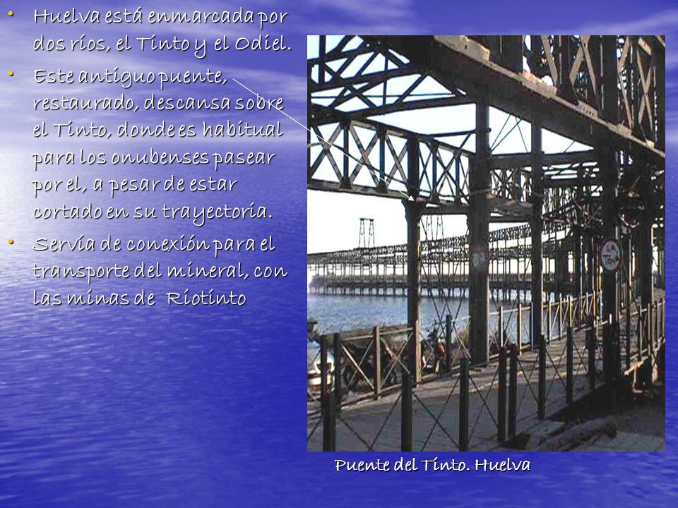 El campus de La Merced, en el centro de Huelva, y que solo dispone de un edificio y se dedica a Empresariales y a Turismo.