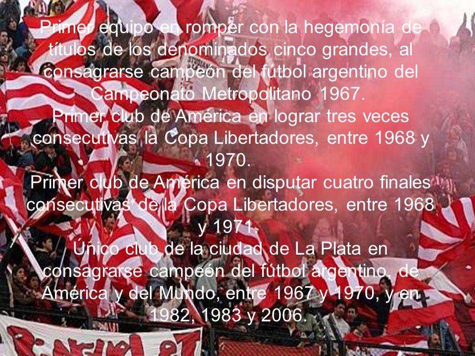 Hechos destacados en la historia del club: Estadísticas de la era profesional (1931- 2006)