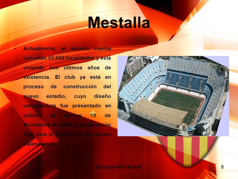 8 Mestalla Actualmente, el estadio cuenta con unas 55.000 localidades y está viviendo sus últimos años de existencia. El club ya está en proceso de co
