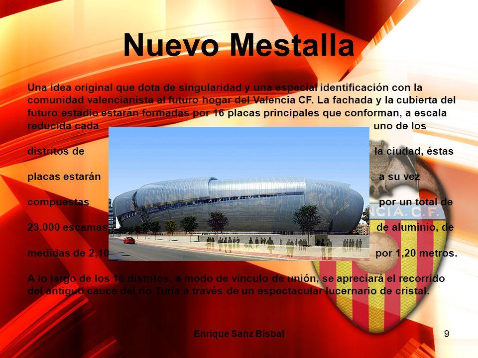 Nuevo Mestalla Enrique Sanz Bisbal9 Una idea original que dota de singularidad y una especial identificación con la comunidad valencianista al futuro