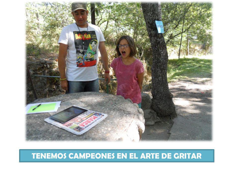 TENEMOS CAMPEONES EN EL ARTE DE GRITAR