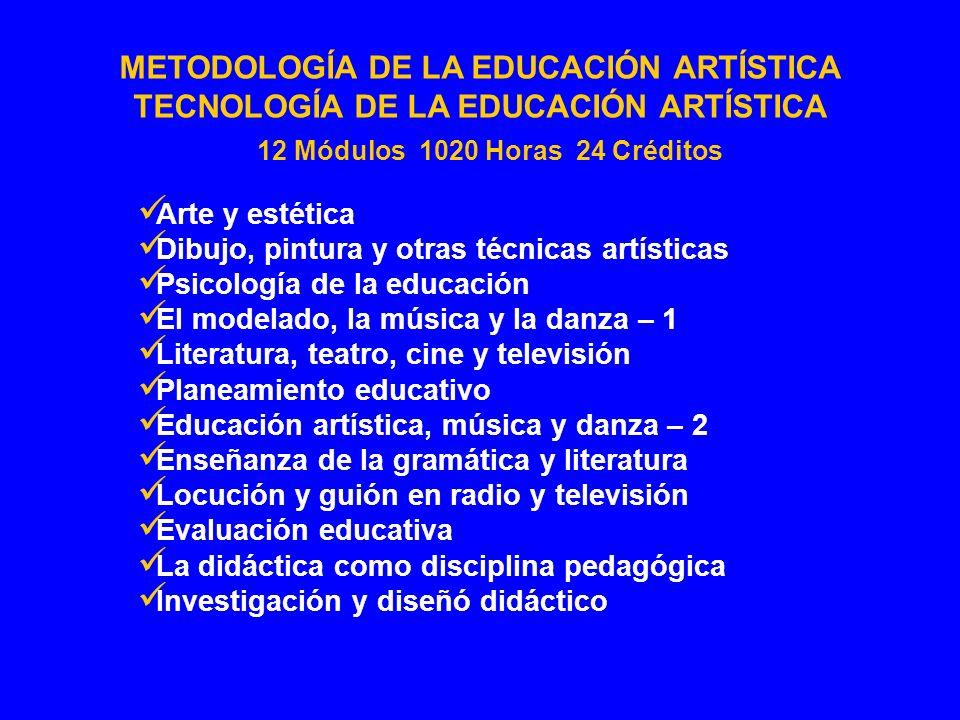 Arte y estética Dibujo, pintura y otras técnicas artísticas Psicología de la educación El modelado, la música y la danza – 1 Literatura, teatro, cine