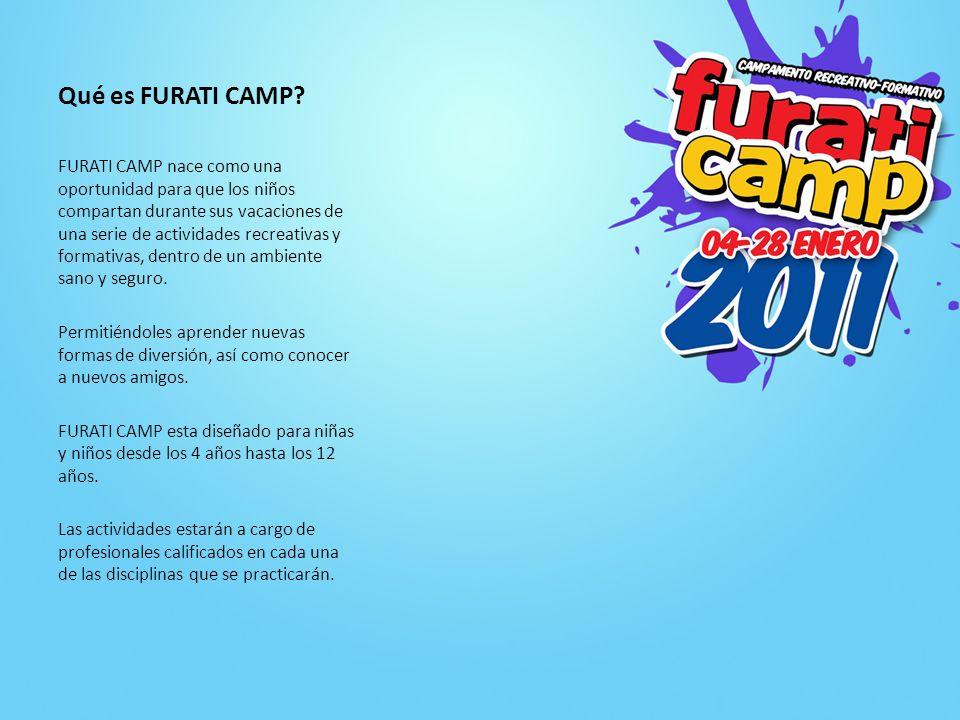 Qué haremos en FURATI CAMP.