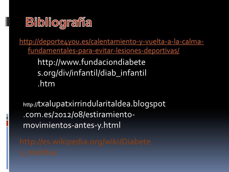 http://deporte4you.es/calentamiento-y-vuelta-a-la-calma- fundamentales-para-evitar-lesiones-deportivas/ http:// txalupatxirrindularitaldea.blogspot.co