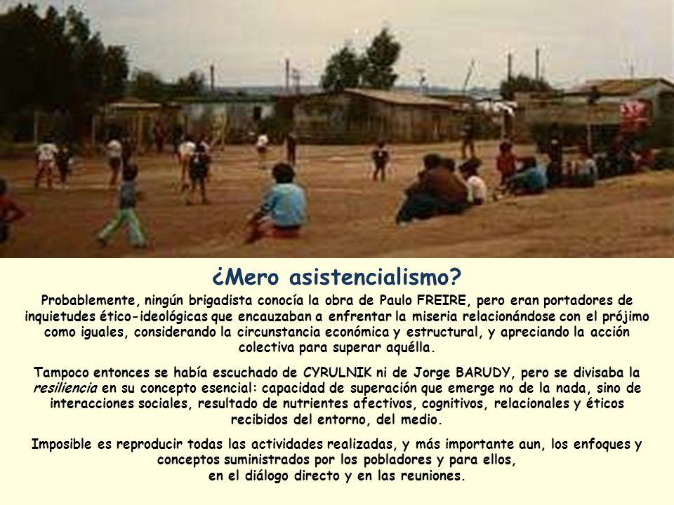 La visita al Ministerio de la Vivienda se concretó el 3 de febrero del mismo año 1984; dejándose el requerimiento, se comunica a varios medios de prensa; luego, se descansa comiendo pan con fiambre en la Plaza de Armas de Santiago.