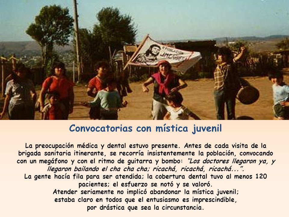 Solidaridad consciente y eficaz A diferencia de 1983, este año 84 abrió puertas a los voluntarios una gran casona, ya con muchos años a cuesta, sede del entonces sindicato de empresa textil Rayonhil.