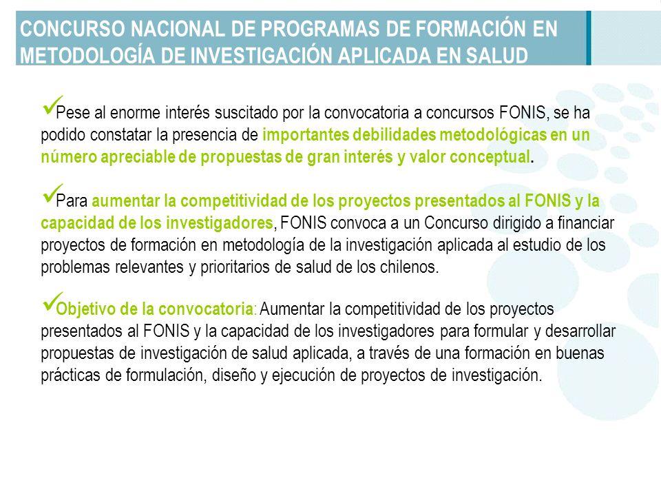 Lineamientos Generales de la Convocatoria Los contenidos de las propuestas deben ser presentados en forma de módulos.