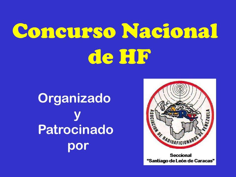 Concurso Nacional de HF 9.- LISTAS Exclusivamente en formato cabrillo.