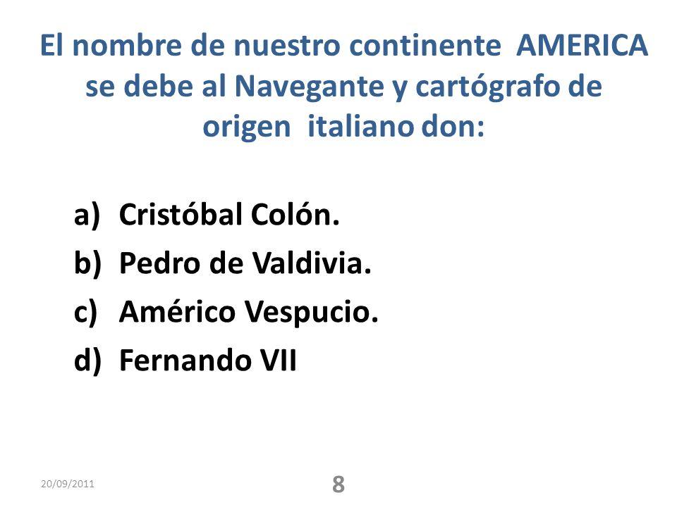 El último gobierno de la concertación fue : a)Eduardo Frei b)Ricardo Lagos c)Patricio Aylwin d)Michelle Bachelet 20/09/2011 11