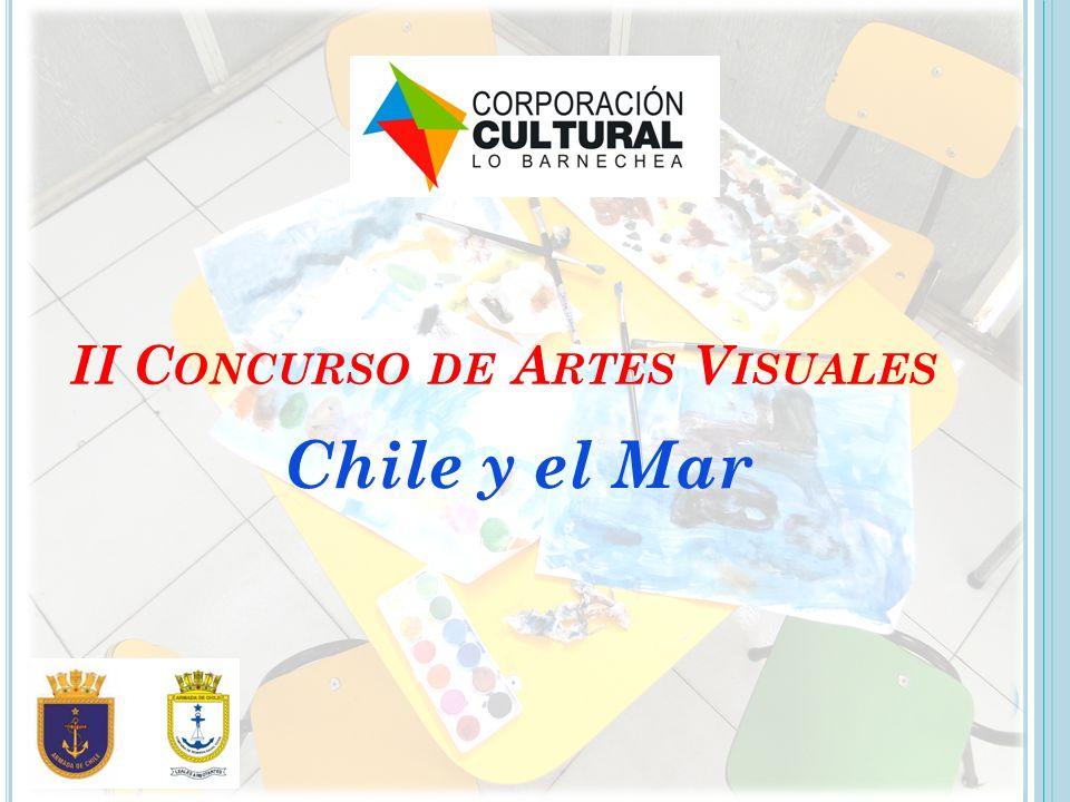 II C ONCURSO DE A RTES V ISUALES Chile y el Mar
