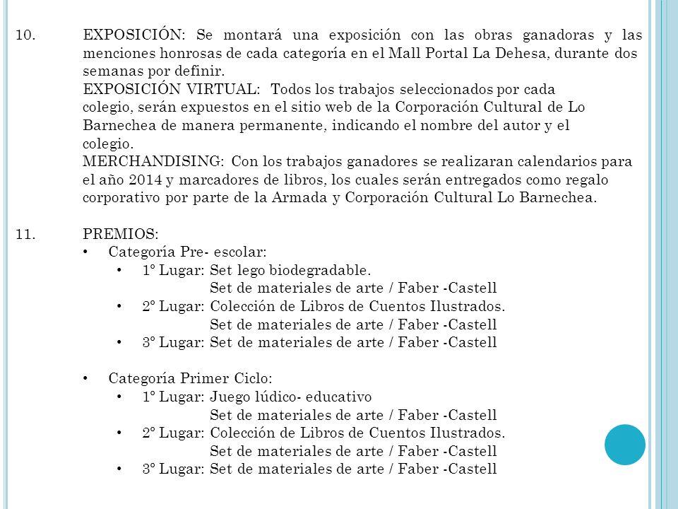 8.PROPIEDAD DE LAS OBRAS: Las obras ganadoras y menciones honrosas de cada categoría pasarán a formar parte del patrimonio visual de la Corporación Cu